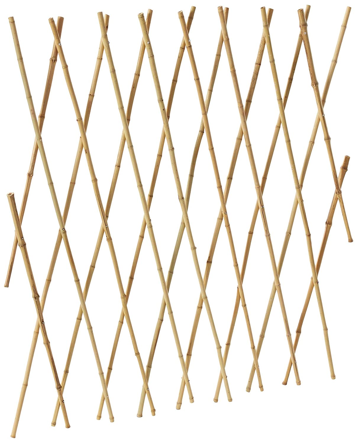 Bosmere Expanding Bamboo Trellis for Vining Plants, 6 x 4