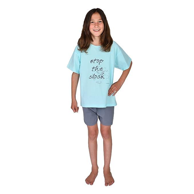 Mauz by Wörner - Pijama - para niña turquesa Shorty kurz 2tlg.