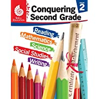 Conquering Second Grade - Student workbook (Grade 2 - All subjects including: Reading, Math, Science) (Conquering the Grades)