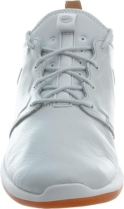 Acusación anchura censura  Amazon.com: Nike Men 's Roshe Dos piel PRM Running Shoe, negro, 10 D(M) US:  NIKE: Shoes