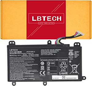 LBTECH AS15B3N Compatible Laptop Battery Replacement for Acer Predator 15 G9-591 G9-591G G9-592 G9-592G G9-791G G9-792G 17 G9-791 G9-792 17X GX-791 Series KT.00803.004 4ICR19/66-2 14.8V 88.8Wh