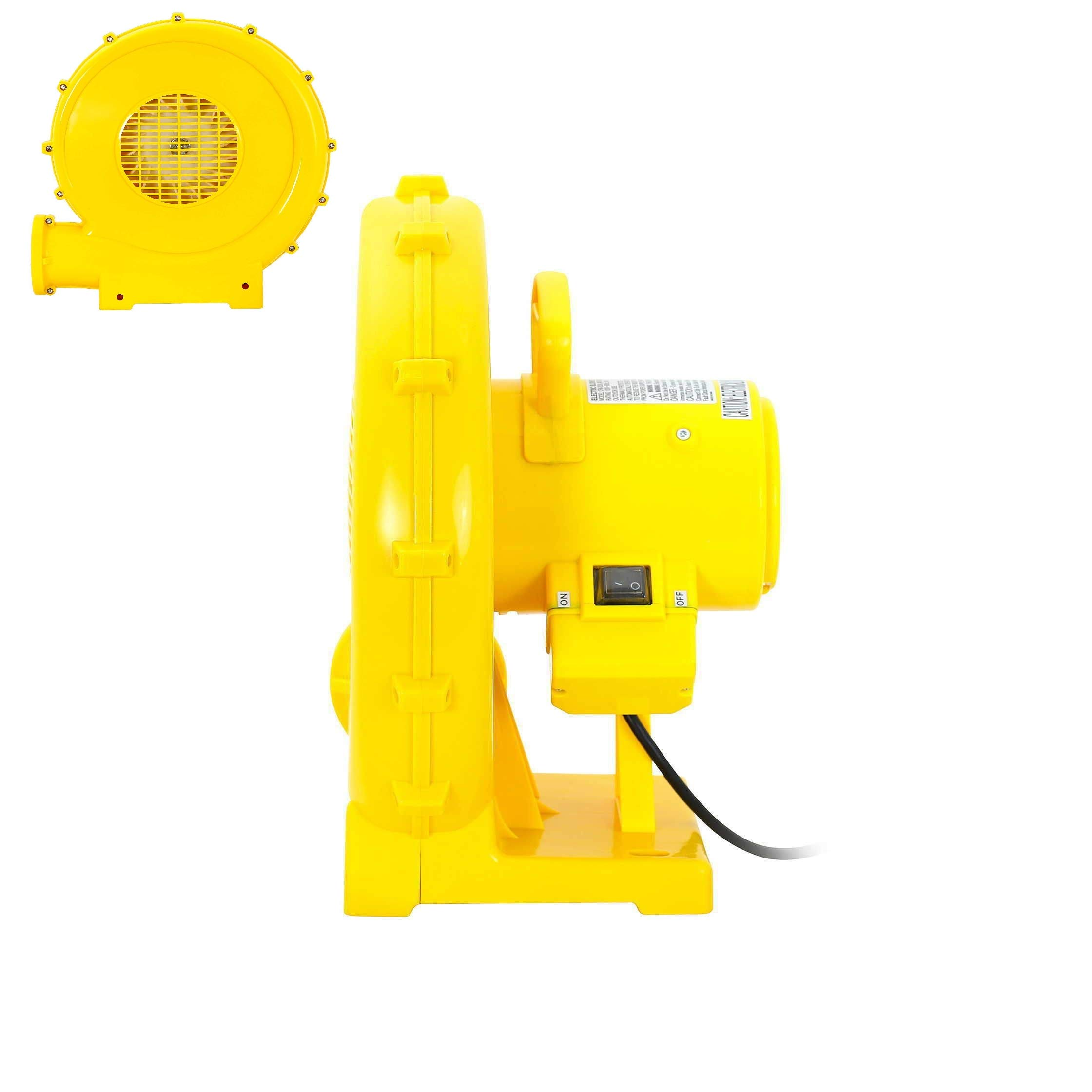 Reliable Safe Inflatable Bounce House Air Pump Blower Fan 950Watt Quick Arrive
