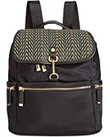 Calvin Klein Lianna Nylon Flap Over Backpack