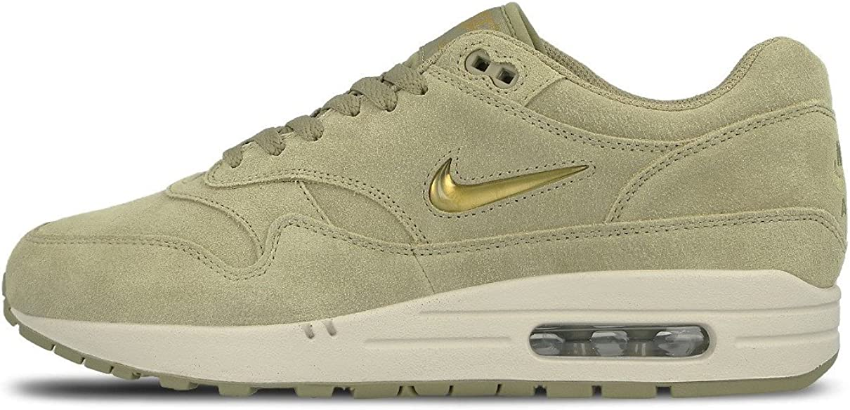 NIKEE Air Max 1 Premium SC Mens Running Shoes Size 11.5 Neutral OliveMetallic Gold
