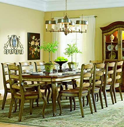 Hooker Furniture Vineyard Rectangle Dining Table With 18 Inch Leaves