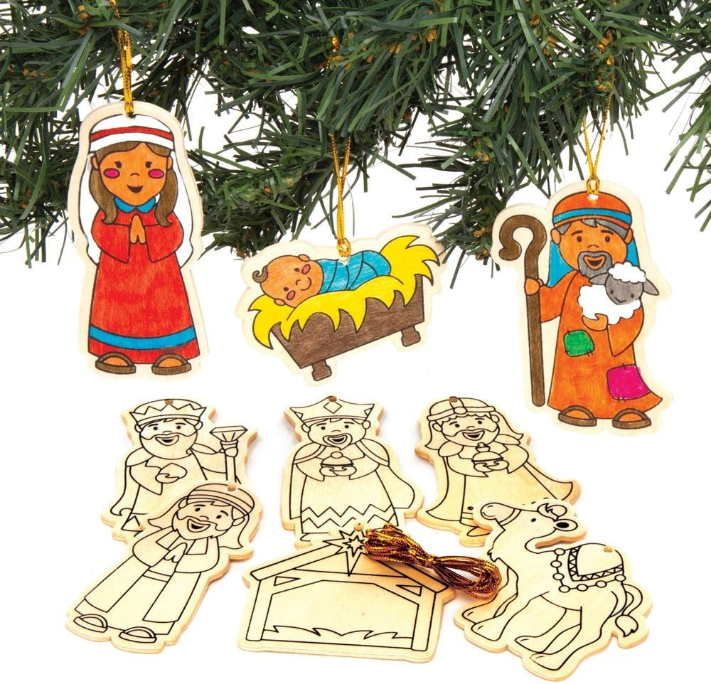 12 CHRISTMAS HOLIDAY KIDS Party Favors Foam Nativity Puzzles VBS SUNDAY SCHOOL