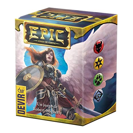 Amazon.com: Devir – Epic, Card Game (bgepicu): Toys & Games