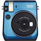 Fujifilm Instax Mini 70 - Instant Film Camera Blue (Certified Refurbished)