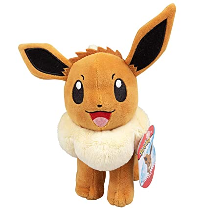 Pokémon Eevee Plush Stuffed Animal Toy - 8