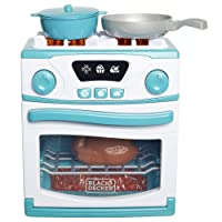 Deals on BLACK+DECKER Junior Oven and Stove Role Play Pretend Kitchen