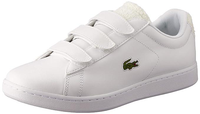 Cuero Para Zapatillas Lacoste De Hombre Blanco BlancoColor nOPNw0k8XZ