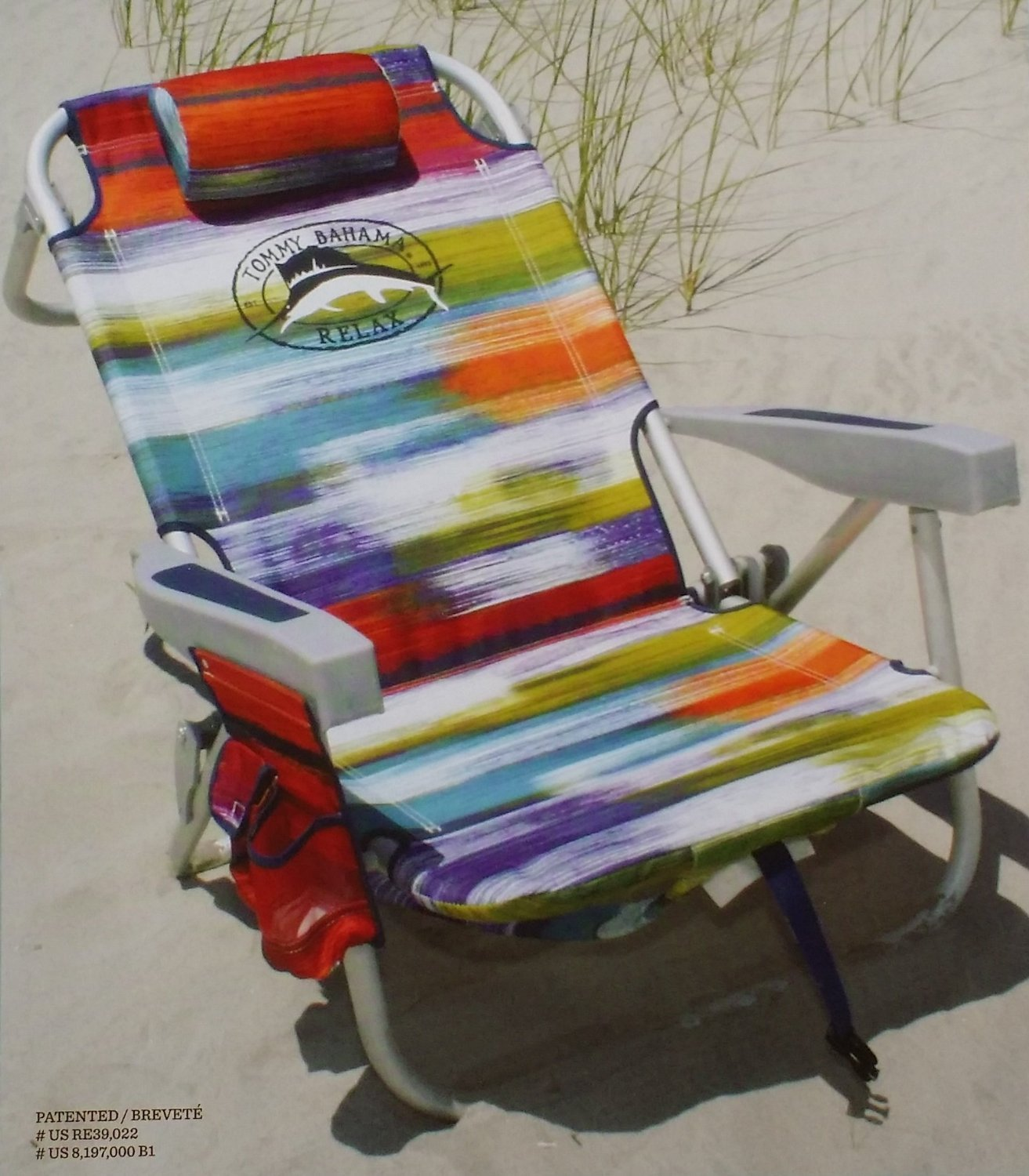 Beautiful Amazon.com : Tommy Bahama Backpack Cooler Beach Chair   Orange Mix :  Camping Chairs : Garden U0026 Outdoor
