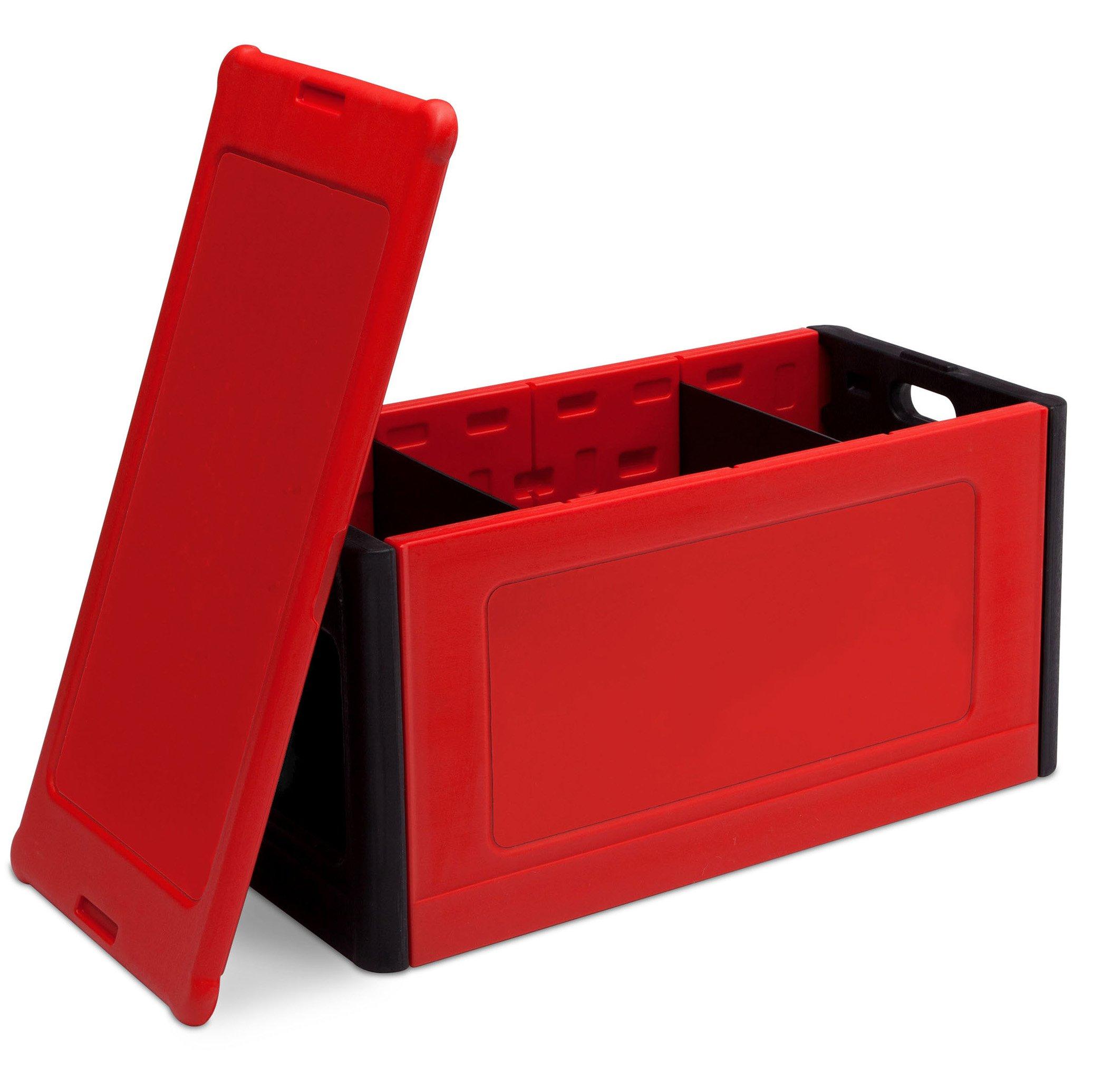 Delta Children Store and Organize Toy Box, Red by Delta Children