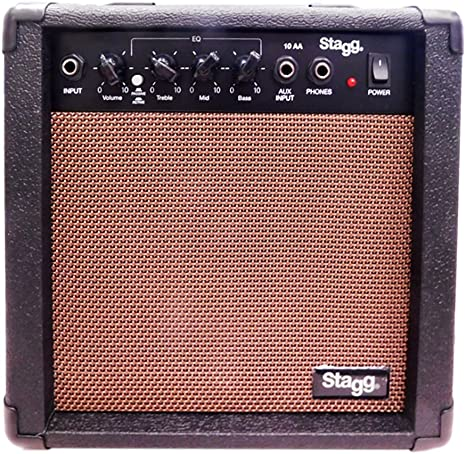 Stagg Stagg - Amplificador para guitarra (10W), color negro ...