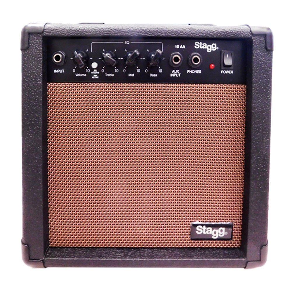 Stagg Stagg - Amplificador para guitarra (10W), color negro: Amazon.es: Instrumentos musicales
