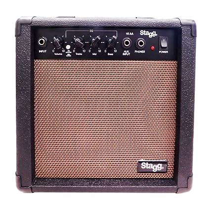 Stagg Stagg - Amplificador para guitarra (10W), color negro