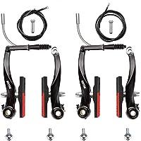 reemplazo Frenos de Bicicleta de aleaci/ón de Aluminio Juego de Frenos en V de Bicicleta de Carretera Yosoo Health Gear 1 par de Pinzas de Freno en Forma de V