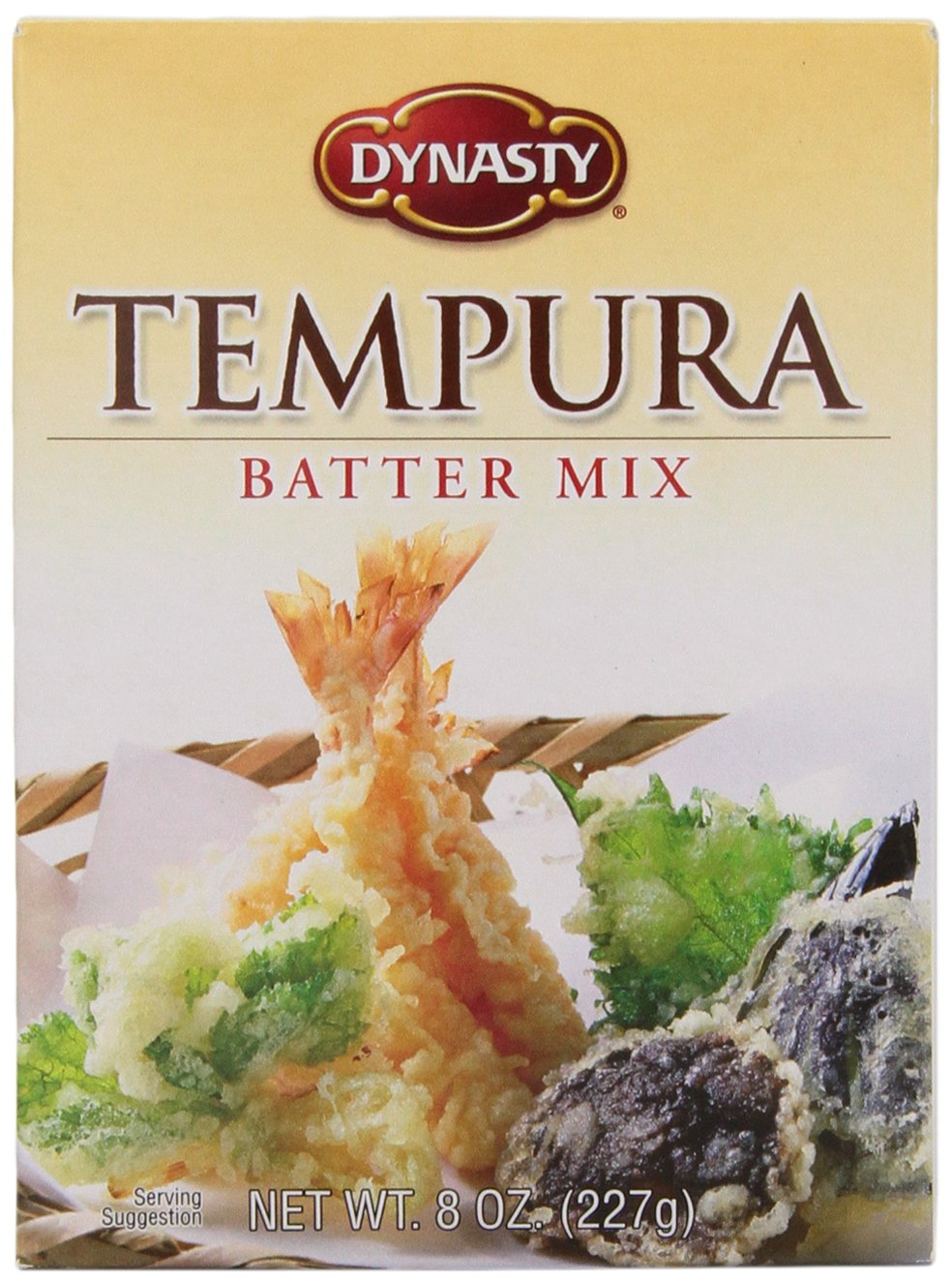 Dynasty Batter Mix Tempura, 8-Ounce (Pack of 6) by Dynasty