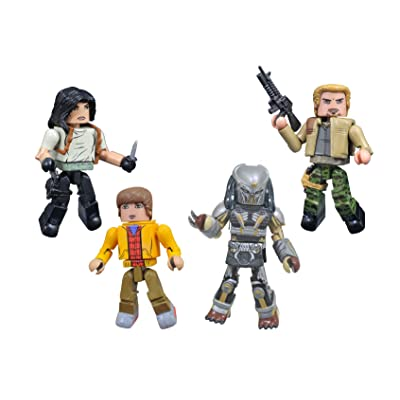 DIAMOND SELECT TOYS The Predator Movie Minimates Box Set: Toys & Games