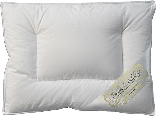 Pandora de Balthazar European Luxury Bedding Down Baby Pillow,