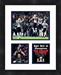 Frames by Mail Super Bowl 51 Tom Brady New England Patriots - Marco de Fotos (11 x 14 cm)