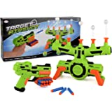 Floating Target Airshot Game Foam Dart Blaster Shooting Toy Kids Ball Blasting
