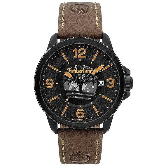 Timberland ver Biddeford automático Negro TBL.15421JSB-02: Amazon.es: Relojes