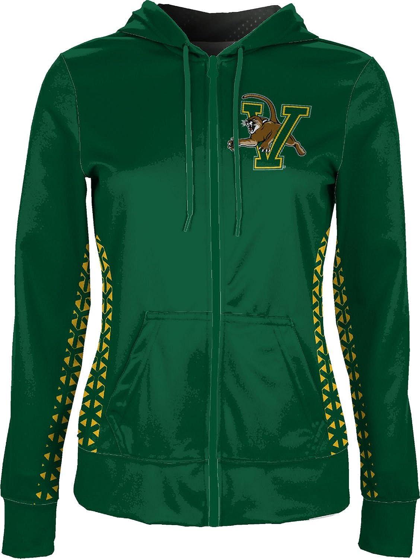 ProSphere University of Vermont Girls Zipper Hoodie School Spirit Sweatshirt Geo