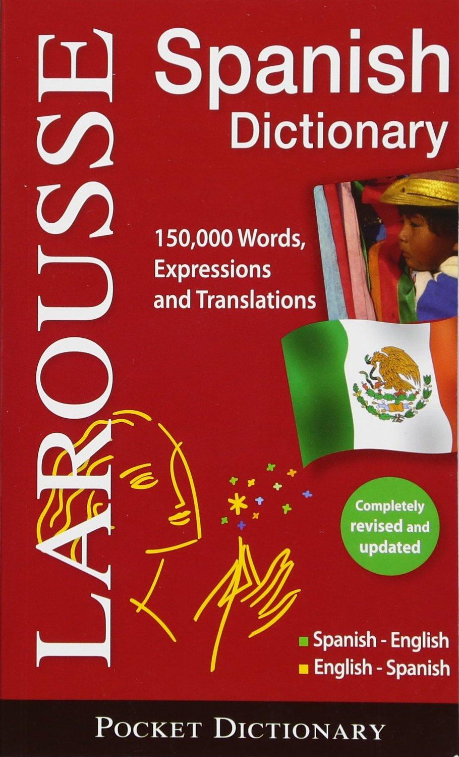 Larousse Pocket Dictionary Spanish Englishenglish Spanish Larousse