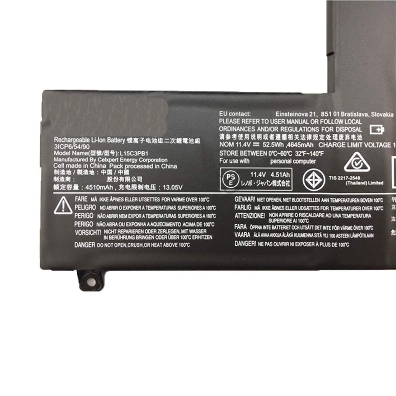 Amazon com: JIAZIJIA Compatible Laptop Battery with Lenovo L15C3PB1