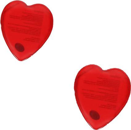 5 Stk große Wärmekissen Taschenwärmer Handwärmer Herz  wiederverwendbar Firebag