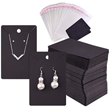 Amazon.com: TUPARKA 120 unidades de tarjetas de exhibición ...