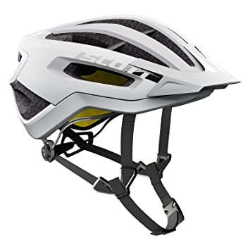 Scott Fuga Plus XC – Casco para Bicicleta de montaña Color Blanco 2018