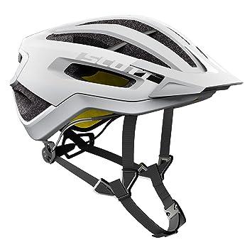 Scott Fuga Plus XC – Casco para Bicicleta de montaña Color Blanco 2018