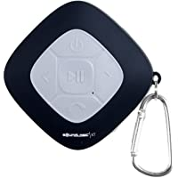 SoundLogic AWS Bluetooth Shower Speaker with FM Radio and Carabiner (3 colors)