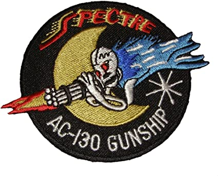 USAF AC-130 Spectre Gunship Embroidered Patch ** LAST FEW **