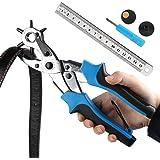 Cinturón agujero perforadora, ballery profesional resistente alicate Sacabocados para piel 2.0 – 4,5