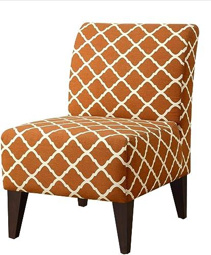 Picket House Furnishings North Accent Slipper Chair Paris Script