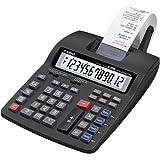 Casio HR-200TEC - Calculadora (Escritorio, Batería, Impresión, Negro, Botones, AA)