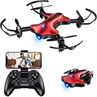Drone Kids,Spacekey FPV Wi-Fi Drone Camera 720P HD, Real-time Video Feed, Great Drone Beginners,Quadcopter Altitude Hold…