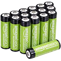 Deals on 16-Pack AmazonBasics AA Rechargeable Batteries Pre-charged