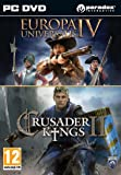Crusader Kings II and Europa Universalis IV Twin Pack (PC DVD) UK IMPORT REGION FREE