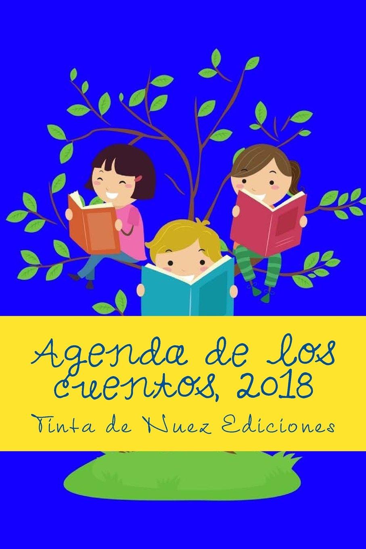 Agenda de los cuentos, 2018 (Azul, L, blanco y negro ...
