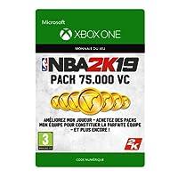 NBA 2K19: 75,000 VC | Xbox One - Code jeu à télécharger