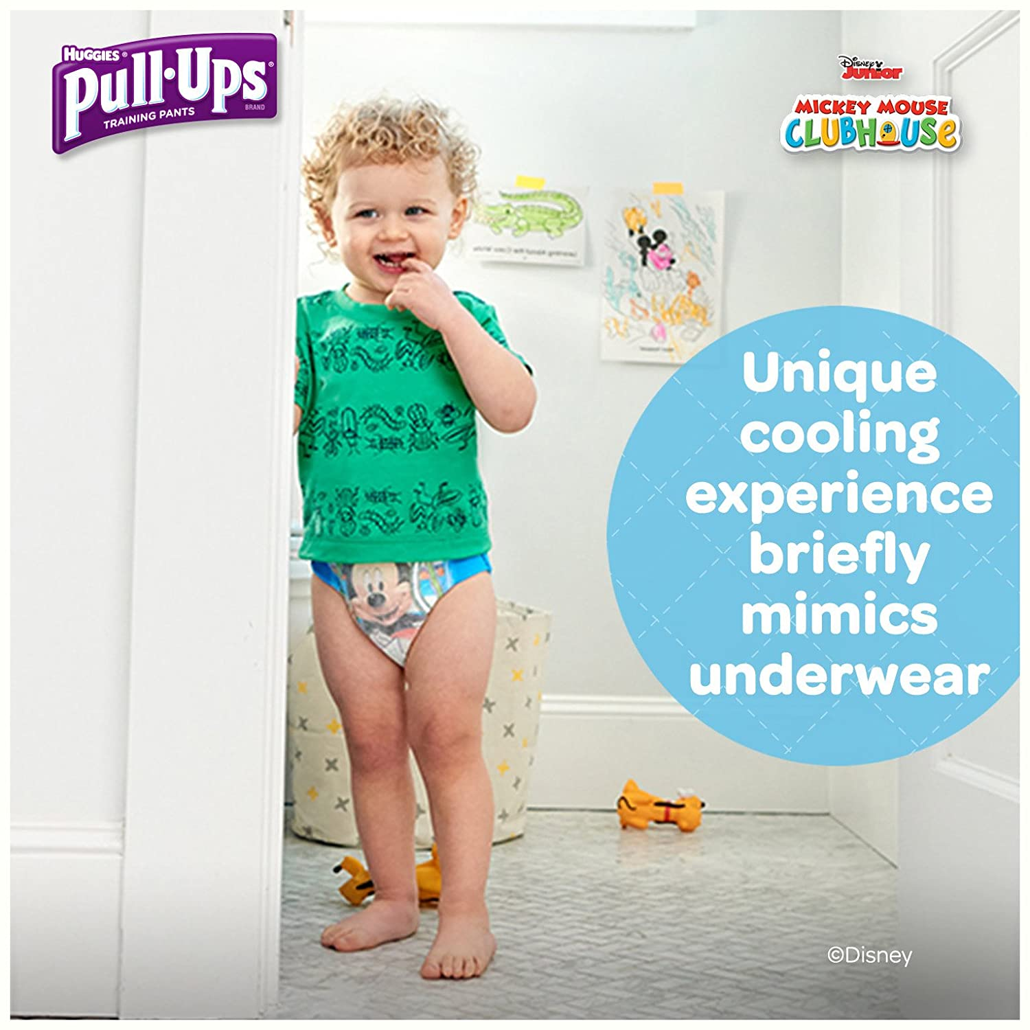 Amazon.com: Pull-Ups Cool & Learn Training Pants for Boys, 3T-4T (32-40  lbs.), 66 Count, Toddler Potty Training Underwear, Packaging May Vary:  Health ...