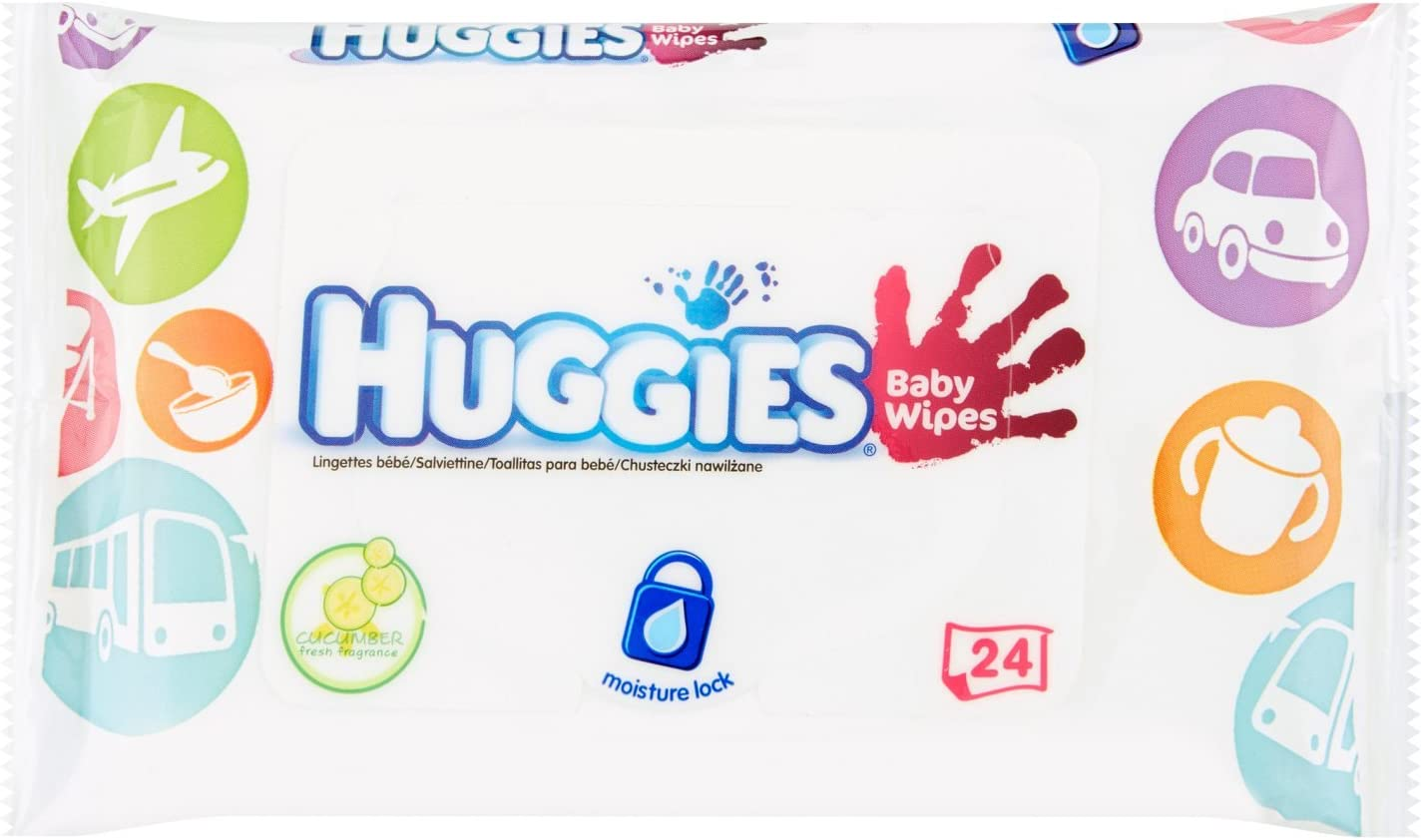 Toallitas Bebé Huggies HandsTravel Pack: Amazon.es: Belleza