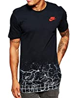 Nike Commuter Men's T Shirt Black/Bright Crimson