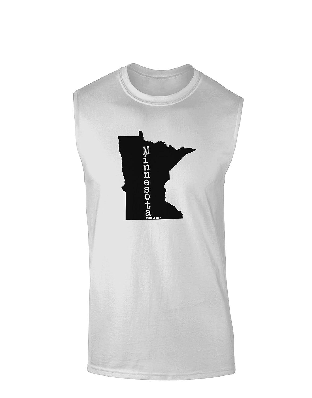 United States Shape Muscle Shirt TooLoud Minnesota