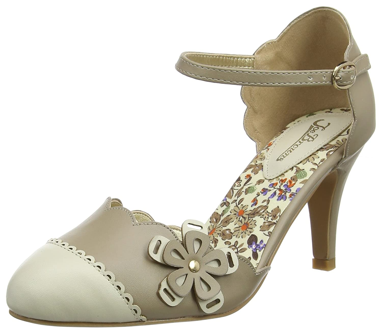 Women's Ankle Heels Strap Shoes Browns Babe Joe Broadway OXiPkZu