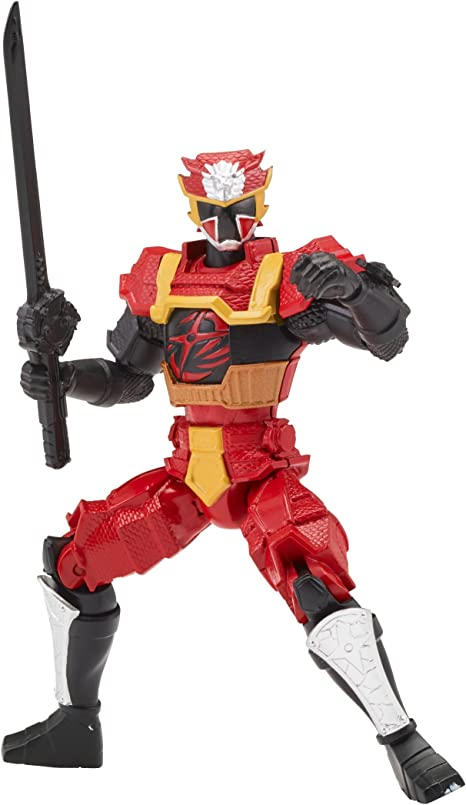 Power Rangers Super Ninja Steel Action Hero Figure, Lion Fire Armor: Red Ranger